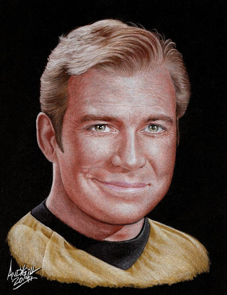 William Shatner by AndyGill